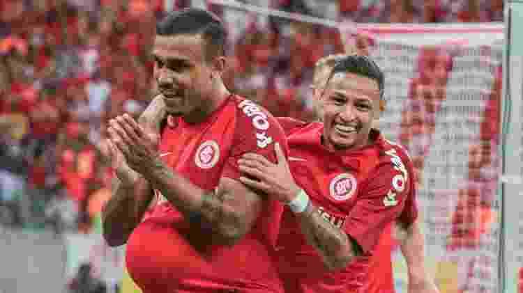 Pottker abriu o placar e dedicou o gol à filha, que fez aniversário no sábado (16) - Lucas Sabino/AGIF - Lucas Sabino/AGIF