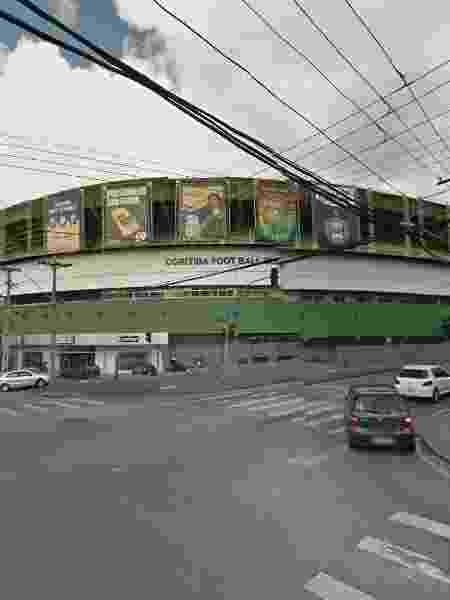 Estádio Couto Pereira - Reprodução/Google Street View