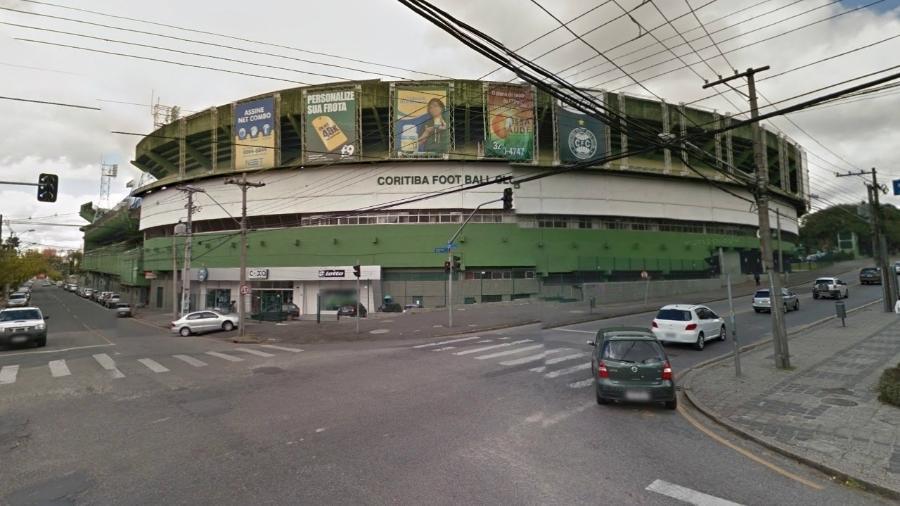 Couto Pereira irá receber o show de Paul McCartney neste sábado, um dia antes do Paratiba - Reprodução/Google Street View