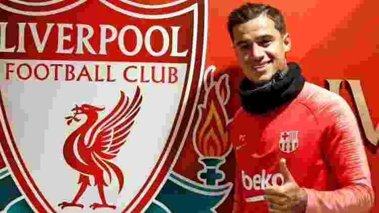 Coutinho mantém o carinho pelo Liverpool, mas deixou o clube para tentar vencer no Barcelona - divulgação/Barcelona
