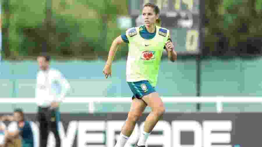 Érika, zagueira da seleção brasileira cortada da Copa do Mundo feminina 2019 - CBF/Divulgação