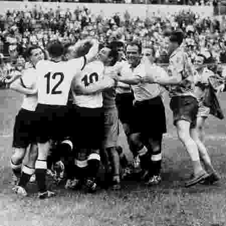Em 1954, Alemanha tomou 8 da Hungria e duas semanas depois venceu a final da Copa do Mundo contra o mesmo rival - Reprodução