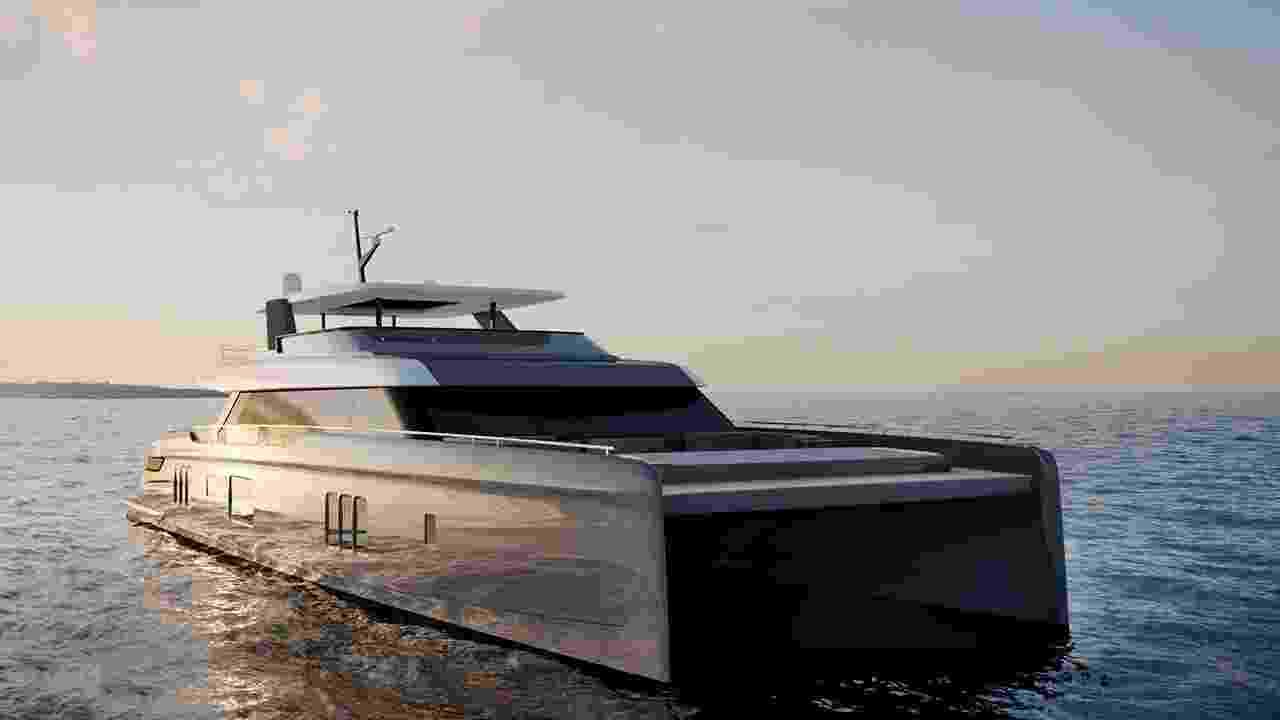 Novo iate de Rafael Nadal - Divulgação/Sunreef Yachts