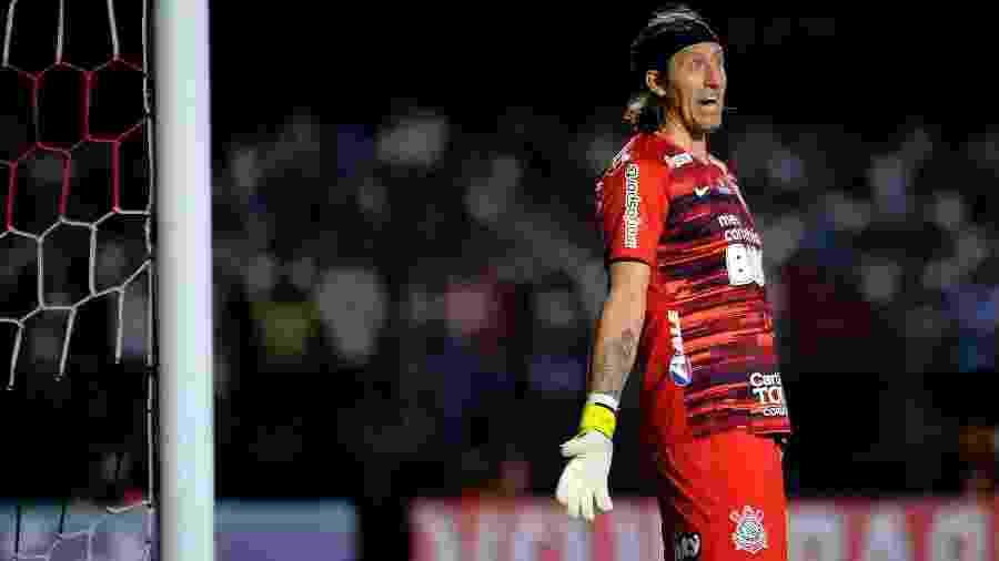 Cássio durante o clássico São Paulo e Corinthians, no Morumbi, disputado na atual temporada - Alan Morici/AGIF
