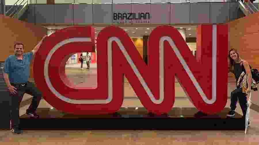 Adalberto Leister Filho e Cris Dias integram a equipe de Esporte da CNN Brasil - Reprodução/Instagram