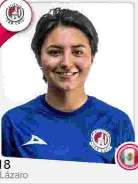 Daniela Lázaro, ex-jogadora do Atlético de San Luis - Reprodução