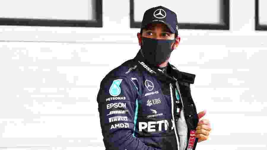 Piloto britânico reconheceu inseguranças e agradeceu apoio de pessoas próximas - Dan Istitene - Formula 1/Formula 1 via Getty Images