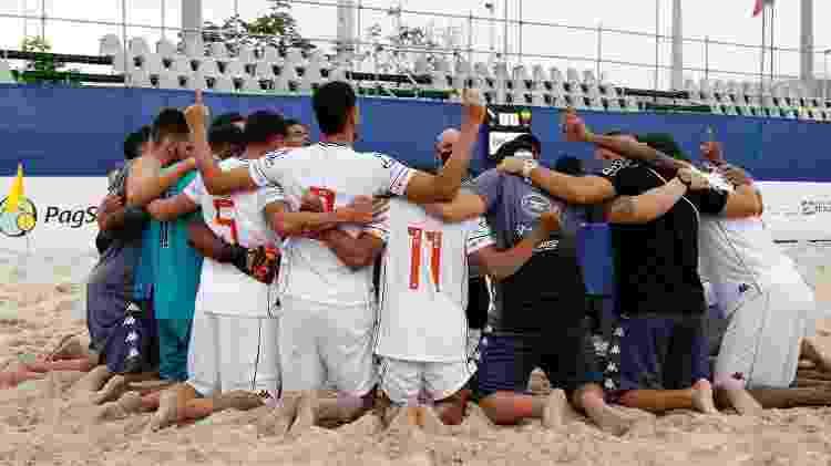 Elenco do Vasco Beach Soccer atua junto há muito tempo e carrega um entrosamento de anos - Flickr do CBSB / Bruno Maia/NB Photopress - Flickr do CBSB / Bruno Maia/NB Photopress