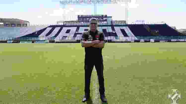 Marcelo Cabo é o novo técnico do Vasco e terá a missão de comandar a equipe na Série B do Campeonato Brasileiro - Rafael Ribeiro / Vasco - Rafael Ribeiro / Vasco