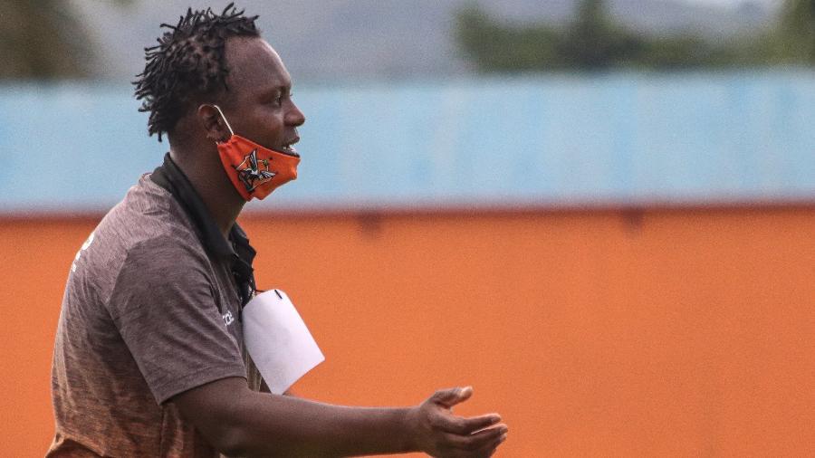 Andrezinho, atualmente, é coordenador técnico do Nova Iguaçu - Vitor Melo/Nova Iguaçu FC