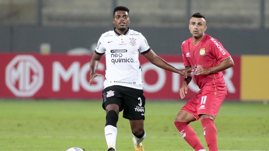 Jemerson em ação pelo Corinthians contra o Sport Huancayo, pela Sul-Americana - Rodrigo Coca/Agência Corinthians
