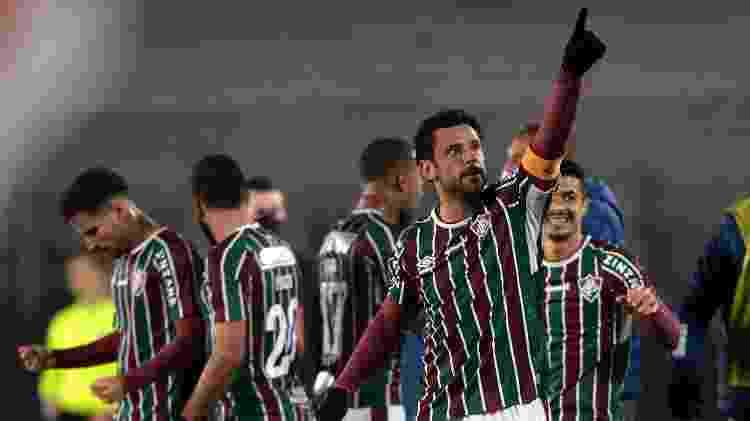 Fluminense ficou na 5ª posição do Brasileirão em 2020 e chegou às quartas da Libertadores e Copa do Brasil em 2021 - Juan Mabromata-Pool/Getty Images - Juan Mabromata-Pool/Getty Images