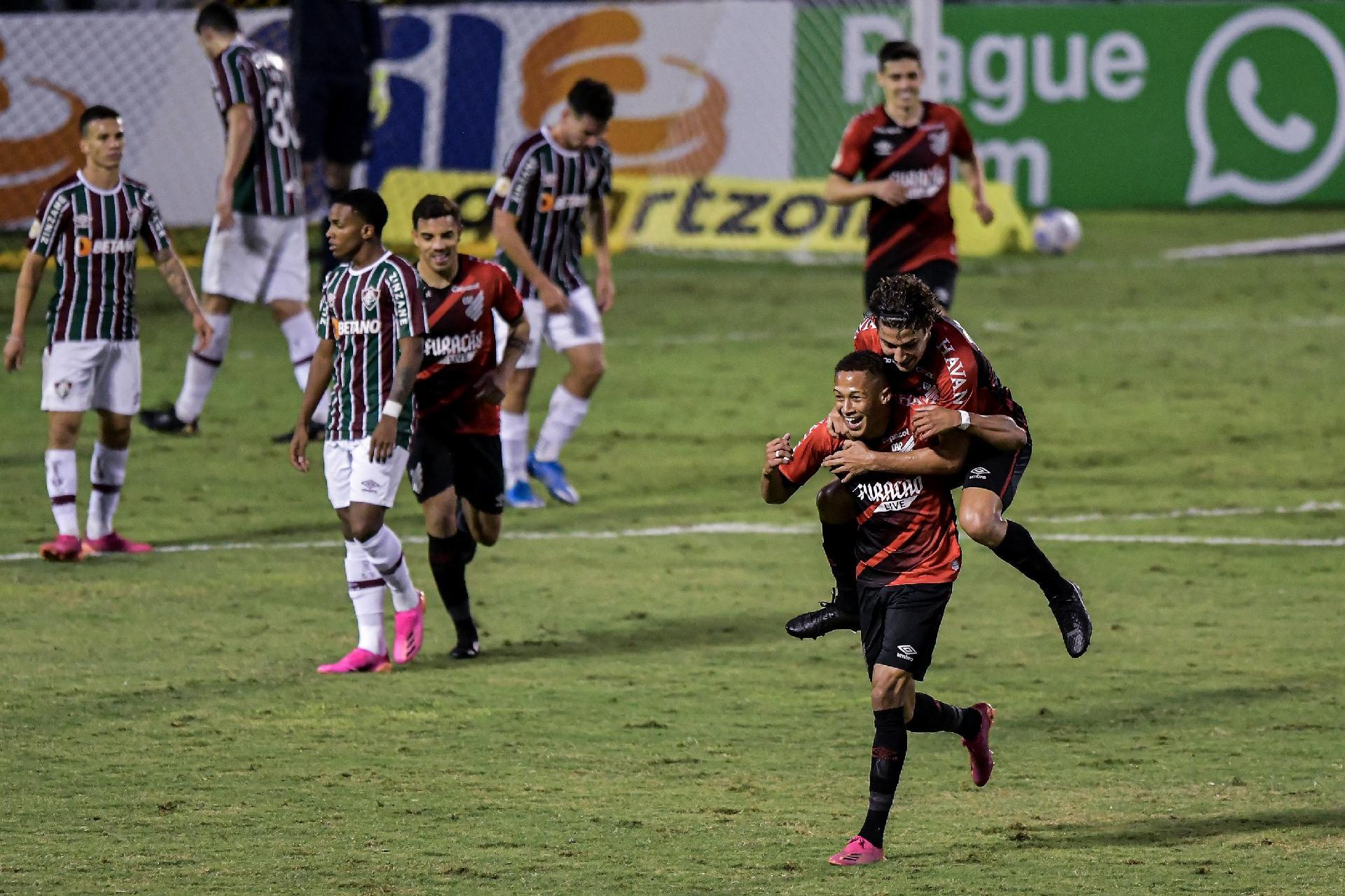 Fluminense 1x4 Atlhetico - Brasileiro 2021