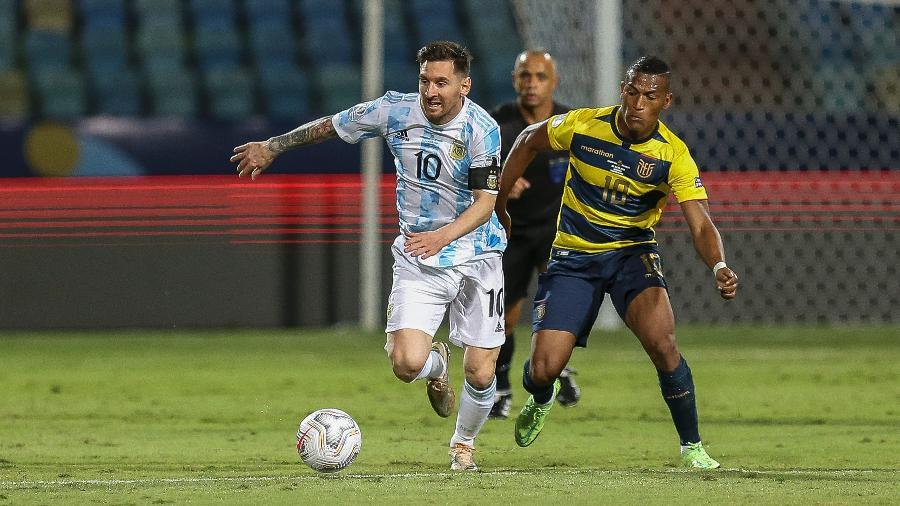 Argentina de Lionel Messi encara a Colômbia na segunda semifinal da Copa América - Heber Gomes/AGIF