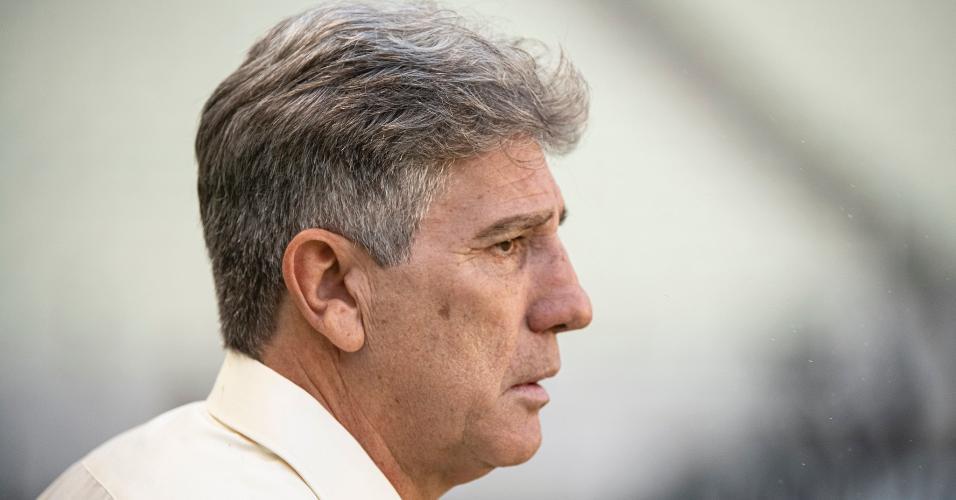 Renato Gaúcho completou 12 partidas no comando do Flamengo neste domingo