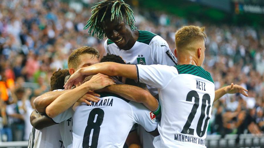 Borussia Moenchengladbach enfrenta o Borussia Dortmund em jogo válido pelo Campeonato Alemão - REUTERS