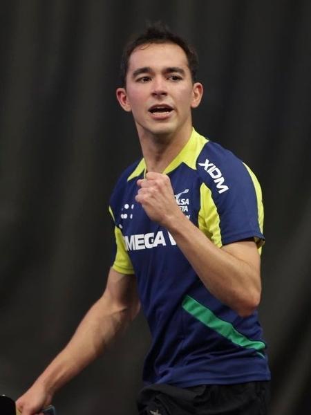 Hugo Calderano é campeão em Doha - Divulgação/ITTF