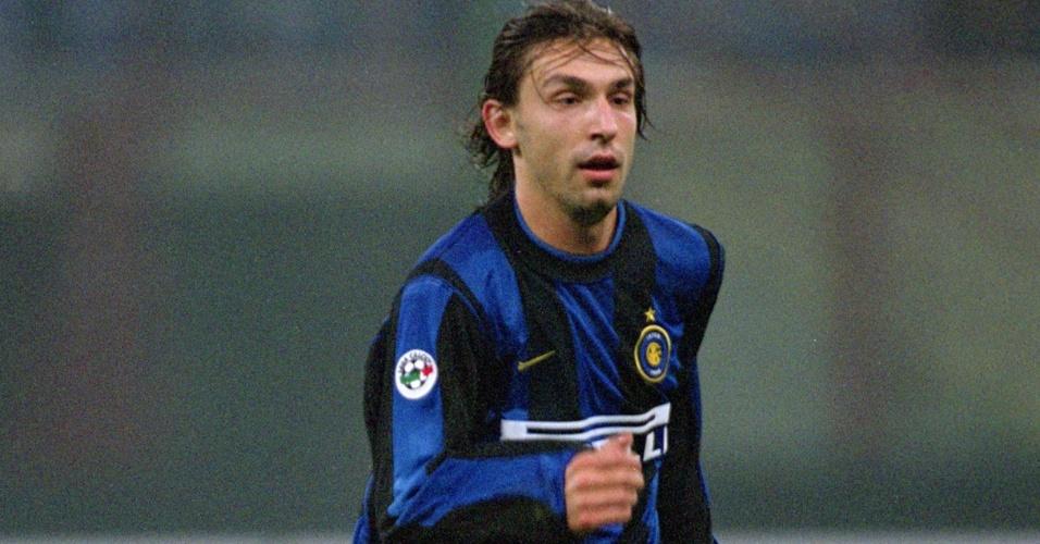 Pirlo em ação pela Inter de Milão