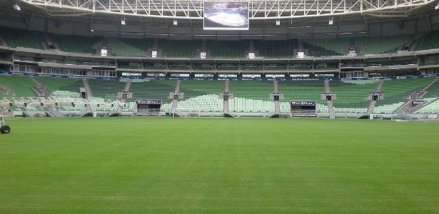 Arena receberá um evento no dia 22, dia de Palmeiras x América-MG