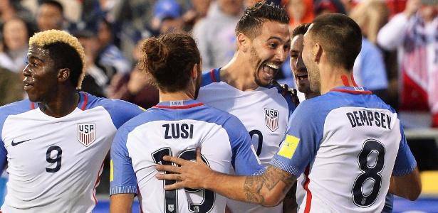 Estados Unidos corriam risco de ficar fora da Copa em caso de derrota - Jamie Sabau/Getty Images