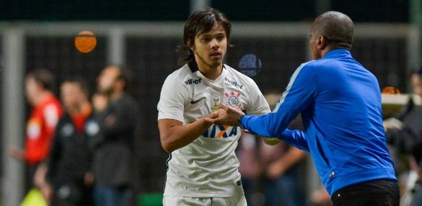 Romero anotou contra o América-MG em vitória corintiana - Daniel Oliveira/Estadão Conteúdo