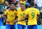 """""""Gabriel Jesus pode fazer a diferença em qualquer clube"""", elogia Neymar - Leonhard Foeger/Reuters"""
