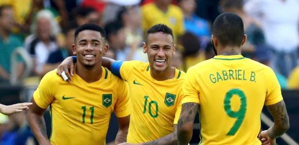 Dupla Neymar e Gabriel Jesus tem feito sucesso na seleção