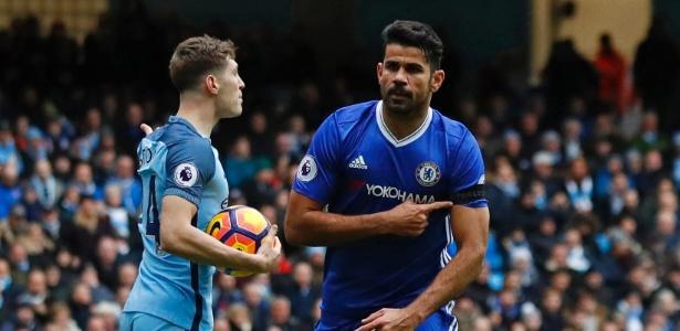 Com gol e assistência, Diego Costa foi eleito melhor em campo na virada contra o City