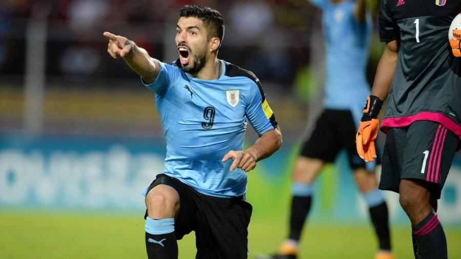 Suárez demonstrou apoio aos seus colegas de profissão no Uruguai - Federico Parra/AFP