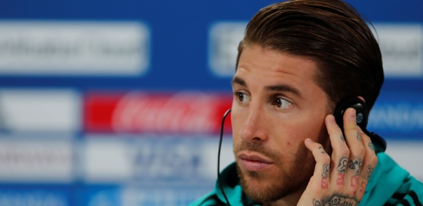 Sergio Ramos em coletiva um dia antes da final do Mundial de Clubes