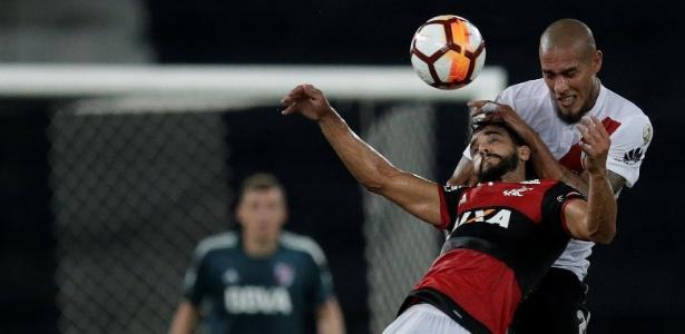 O Flamengo ficou no empate na estreia da Copa Libertadores com o River Plate