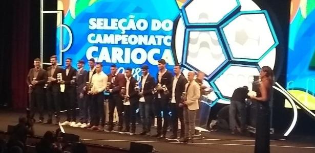Campeão, Botafogo teve apenas dois representantes na seleção do Campeonato Carioca