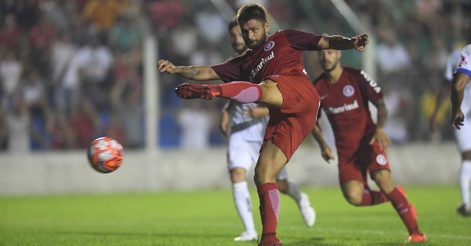 Rafael Sóbis, durante partida entre Inter e Veranópolis