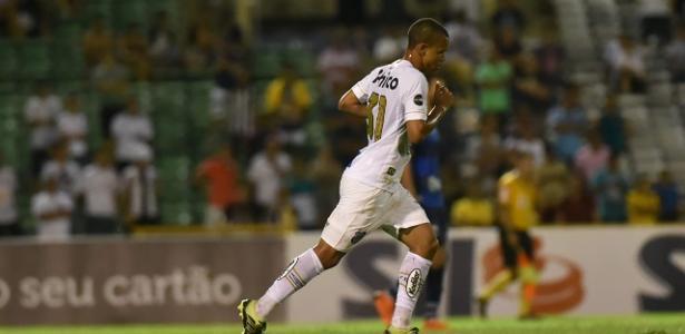 Sandry durante partida do Santos - Ivan Storti/Santos FC