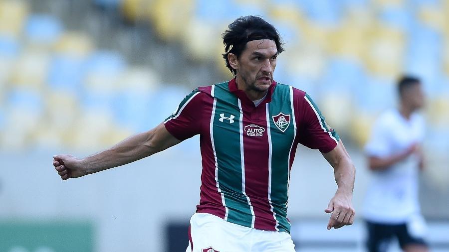 Matheus Ferraz mostrou confiança em classificação do Fluminense na Copa do Brasil - Thiago Ribeiro/AGIF