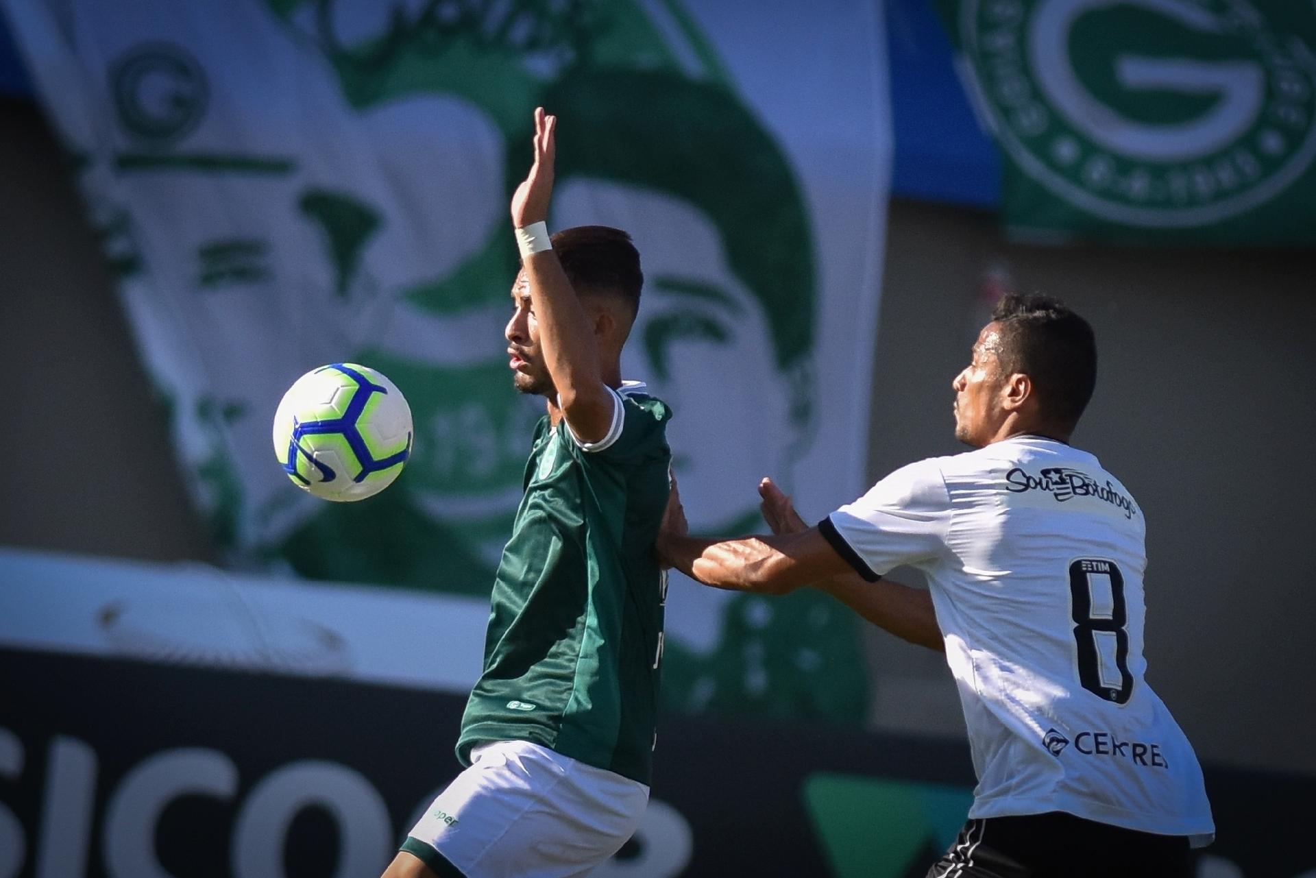 0f8e49017 Goiás vence o Botafogo com gol de Kayke nos minutos finais - 19 05 2019 -  UOL Esporte