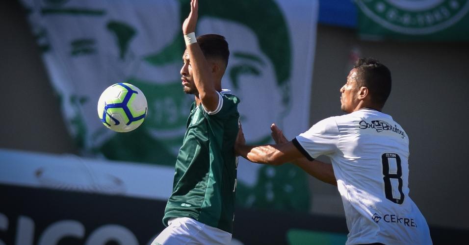 Goiás x Botafogo em partida pelo Campeonato Brasileiro 2019