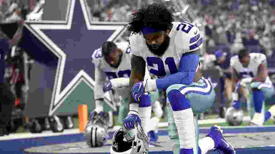 Dallas Cowboys, da NFL, é o time mais valioso do mundo - Ronald Martinez/Getty Images