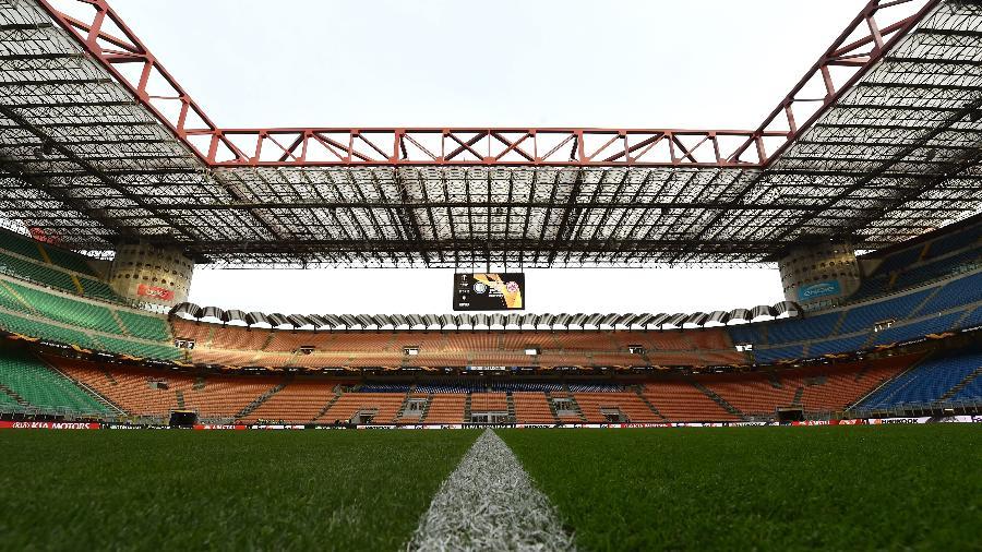 Jogos do campeonato italiano estavam acontecendo com portões fechados; decisão de hoje exclui competições internacionais - Tullio Puglia - UEFA/UEFA via Getty Images