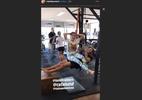 Atriz da Globo oferece ajuda inusitada durante treino do namorado surfista - Reprodução/Instagram