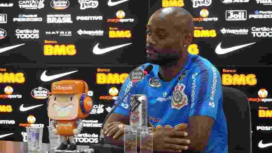 Atacante soma 11 gols na temporada e lidera ranking de artilheiros ao lado de Gustavo, de quem é titular atualmente - Gabriel Carneiro/UOL Esporte