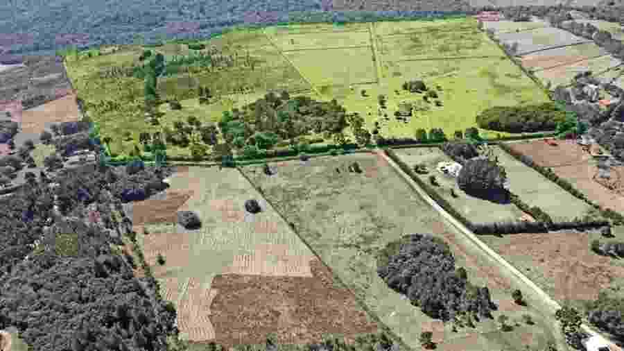 Terreno comprado pelo Coritiba para construção do CT de Campina Grande do Sul - Divulgação/Coritiba