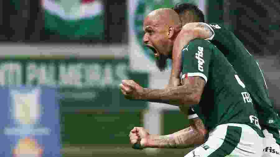 Vitória sobre a Chapecoense levou o Palmeiras a 53 pontos na tabela do Brasileiro - Marcello Zambrana/AGIF