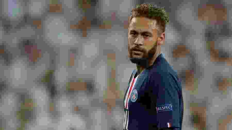 Neymar, durante partida entre PSG e Real Madrid - REUTERS/Susana Vera