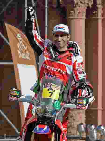 Paulo Gonçalves, piloto português do Rali Dakar - ALEJANDRO PAGNI / AFP - ALEJANDRO PAGNI / AFP