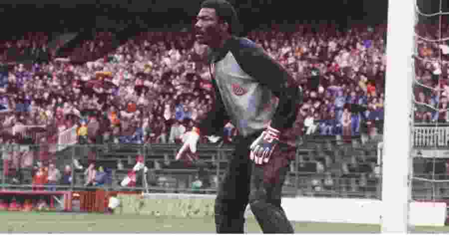 """Thomas N""""Kono se destacou na Copa do Mundo de 1982 e abriu caminho para africanos na Espanha - Divulgação"""