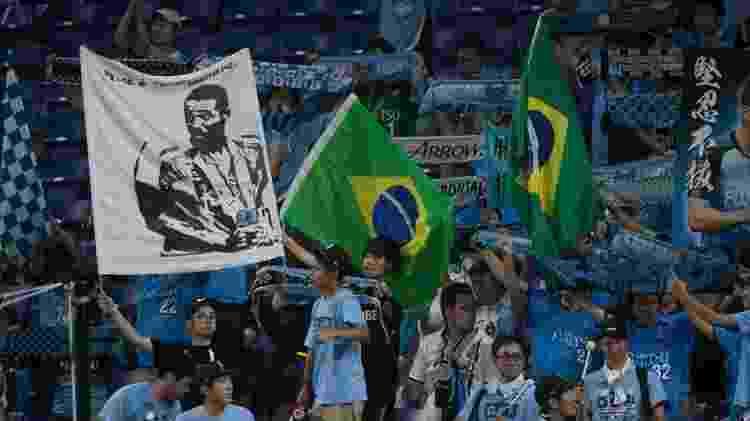 Frontale mantém conexões com o Brasil até hoje: jogadores e bandeiras  - Divulgação/Kawasaki Frontale - Divulgação/Kawasaki Frontale