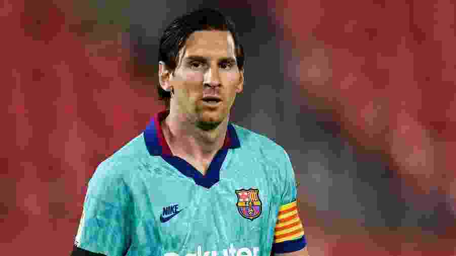 Argentino deve ser titular nos próximos compromissos do Barcelona na Liga dos Campeões - David Ramos/Getty Images