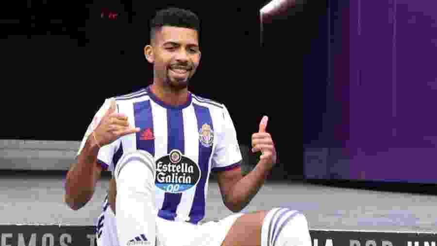 Matheus Fernandes atuou com a camisa do Valladolid nos últimos meses e deve ser emprestado novamente - Reprodução/Instagram