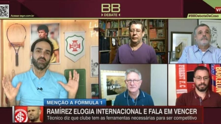 Comentaristas da ESPN aprovam Miranda no São Paulo - Reprodução/ESPN
